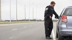 Ticketed Motorist Pointing Finger Just The Green Light Cop Needed