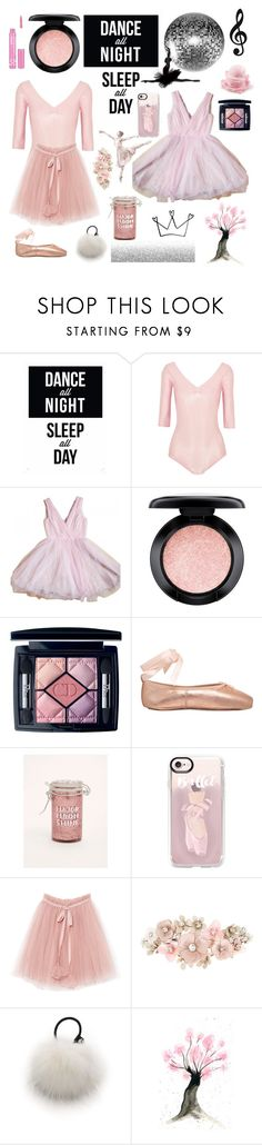 """I love ballet"" by fashionistalee ❤ liked on Polyvore featuring Native State, Ballet Beautiful, MAC Cosmetics, Christian Dior, Opera National de Paris, Torrid, Casetify, Accessorize, Eugenia Kim and NYX"