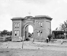 Gettysburg, Pa. The cemetery gatehouse  CREATED/PUBLISHED 1863 July.