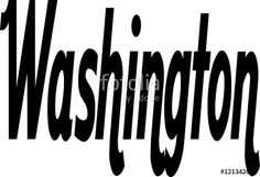 """Washngton text sign writen in English"" creato da morgan capasso"