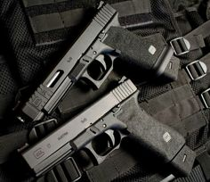Just a pair of Glock 9s