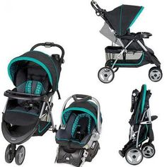 Baby Stroller Car Seat Travel System Infant Carriage Canopy Buggy 2 In 1 Set #BabyTrend