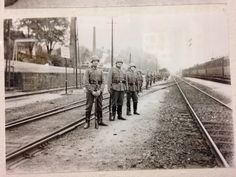 Train station at Colditz, sometime between 1939-1945