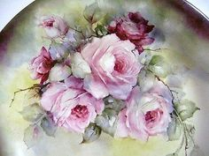 Paint Roses Flowers on Porcelain or China DVD Intructional Art Artist Supplies | eBay