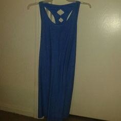 I just added this to my closet on Poshmark: Bebe bodycon Blue Women's Spandex Dress. Price: $24 Size: see details