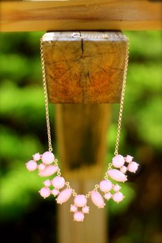 Strawberries and Champagne Necklace