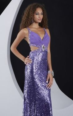 Lovely Sequined Gown by Jasz Couture 5114. My prom dress