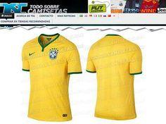 Uniformes de Brasil en el mundial 2014