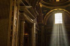 Basilica di San Pietro #basilicadisanpietro #Buildings #church #classic #dome #faith #Italia #Italy #light #old #Roma #rome #Urban #window #vatican