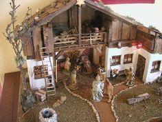 Weihnachtskrippe Bauanleitung zum selber bauen Selber machen