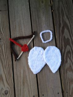 Instant Download  PDF Cupid crochet pattern  angel  by BizeeB, $3.95