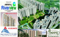 Amrapali Riverview is the brand new project developed by amrapali group and offers 2bhk and 3bhk luxury residential apartments in noida extension in affordable price with great floor plan.