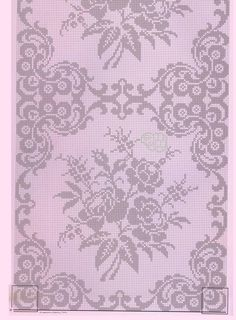 - Best Picture For motif tissu For Your Taste You are looking for something, and it is going to tell you exactly what you are looking for, and you didn't find that picture. Here you will find the most beautiful picture that will fascinate you when called Crochet Tablecloth Pattern, Crochet Lace Edging, Crochet Bedspread, Crochet Doilies, Cross Stitch Borders, Cross Stitch Rose, Cross Stitch Embroidery, Filet Crochet Charts, Crochet Stitches