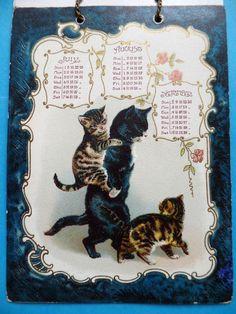 Victorian Helena Maguire calendar 2, detail 4.