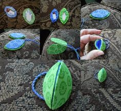 NEEDLE BENDER: Brazil Nut Fob tutorial of my scissors fob. It is just a smaller version of the thimble holder on the right. Sewing Case, Sewing Box, Sewing Notions, Sewing Hacks, Sewing Tutorials, Sewing Patterns, Quilting Tutorials, Fabric Crafts, Sewing Crafts