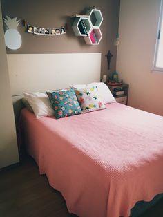 Bedroom Decor For Teen Girls, Girl Bedroom Designs, Small Room Bedroom, Bedroom Themes, Bedroom Colors, Diy Bedroom Decor, Wc Decoration, Home Room Design, Dream Rooms