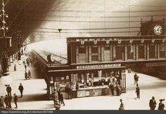 Old Glasgow photo of St Enoch Railway Station. Welcome to Victorian Glasgow, take a step back in time and wonder down the lives and events of Glasgow's Victorian Era. Glasgow Scotland, Scotland Travel, Draw On Photos, Old Photos, Paisley Scotland, Disused Stations, Glasgow City, Central Station, Places Of Interest