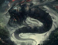 Quetzalcoatl by Bkvt