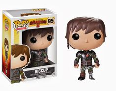 New Funko POP! Figures For How To Train Your Dragon 2 - Hiccup