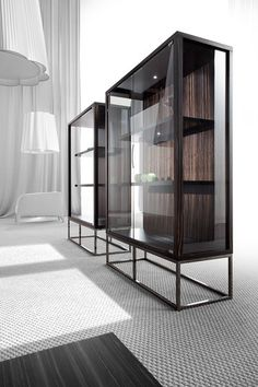 Display cabinets | Storage-Shelving | Pensami | Erba Italia. Check it out on Architonic