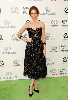 Darby Stanchfield in Chagoury Couture