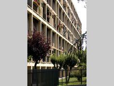 Condominio in via Harar - Produrre_muoversi_abitare, struttura e forma nell'architettura milanese - itinerari - Ordine degli architetti, P.P.C della provincia di Milano