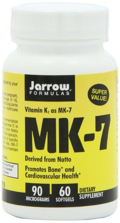 Non-GMO natto based MK-7 supplement -  Getting enough Vitamin K2 is absolutely essential to vibrant health and the vast majority of people, even those eating a completely whole food, organic diet, fail miserably in getting enough.  Combine with Vitamin A and Vitamin D3! thehealthyhomeeconomist