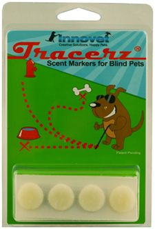 Tracerz Scent Location Markers - Scent Training Blind Dogs & Cats