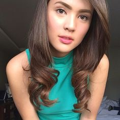 Photo from Sofia Andres (IG) Filipina Beauty, Hair Highlights, Gorgeous Hair, Pretty Face, Girl Crushes, Asian Woman, Philippines, Hair Cuts, Faces