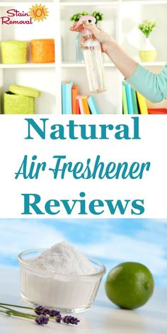 Here is a round up of natural air freshener reviews to help you find eco-friendly products for the job. Find out which ones work best, or share your own opinions {on Stain Removal 101} Deep Cleaning Tips, House Cleaning Tips, Spring Cleaning, Cleaning Hacks, Green Cleaning, How To Remove Kitchen Cabinets, Natural Air Freshener, Clean Baking Pans, Glass Cooktop