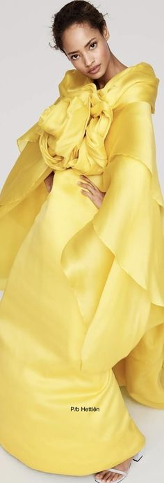 Mellow Yellow, Bright Yellow, Long Dresses, Shake, Rainbow, Happy, How To Wear, Rain Bow, Long Gowns