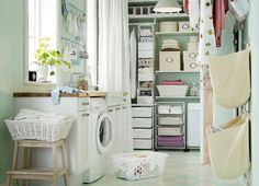 ikea laundry room