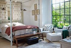 Create a beautiful bedroom with worldly allure!