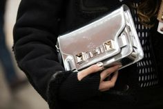 It wouldn't be Fashion Week without coordinating nails and handbags