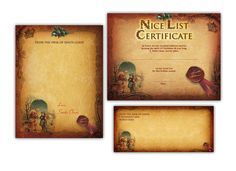 Free santas nice list certificate personalised santa nice list another one from free santa letters online letters with nice list certificate and envelope are upgrades not one of the free options spiritdancerdesigns Choice Image