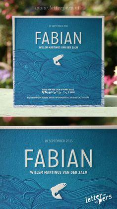 letterpers_letterpress_geboortekaartje_Fabian_blauw_katoenpapier_preeg