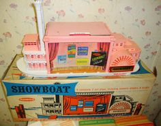 1962 Showboat by Remco One of my favorite toys. I still have it and most of the pieces and the scripts. It was the perfect toy for this aspiring actress.