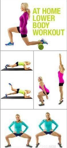 at home lower body workout | Posted By: AdvancedWeightLossTips.com