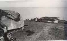 Bunker d'observation de la Pointe du Hoc après les combats.