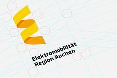 Elektromobilität Region Aachen by Jann de Vries, via Behance    broken down