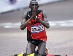 Stephen Kiprotich wins Olympic gold for Uganda in marathon