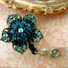 bling id badge holders - Google Search