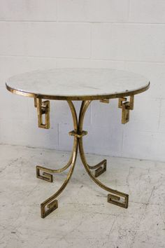 Arturo Pani Gilt Table | From a unique collection of antique and modern gueridon at https://www.1stdibs.com/furniture/tables/gueridon/