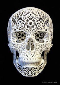 #3Dprinted #Skull