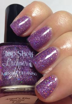 Top Shelf Lacquer Angel's Kiss Martini LE for Crystals Charity Lacquers in direct light @topshelflacquer