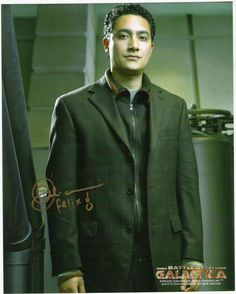 "Alessandro Juliani as Gaeta in ""Battlestar Galactica""."