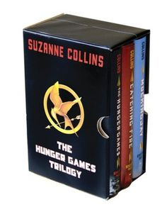 The Hunger Games Trilogy Books and soon to be movies!!  A definate must read for anyone 10 - 100.