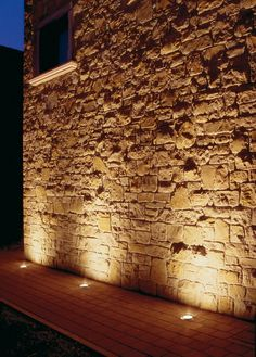 Corrosion resitant marine grade steel, with toughened Optiwhite glass, exclusive moisture control, easy maintenance. Facade Lighting, Exterior Lighting, Outdoor Lighting, Landscape Lighting Design, Stone Cottages, Interior Architecture, Wall Lights, New Homes, Patio