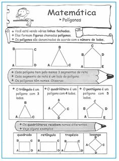 Polígonos – atividades  |   Rérida Maria