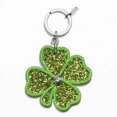 Love it, got it:  Glitter Shamrock Key Ring from the Coach Factory Official Site